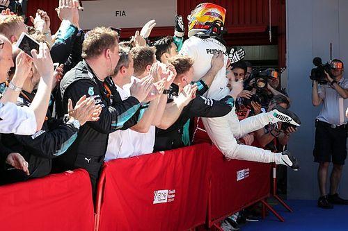【F1】ハミルトン「マシン重量のため、ドリンクを積んでいなかった」
