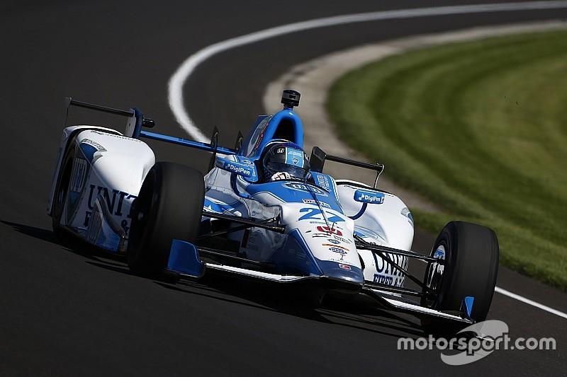 Andretti snelste tijdens eerste Indy 500 training, Alonso P19