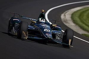 IndyCar Отчет о тренировке Карпентер стал лучшим в тренировке Indy 500, Алонсо четвертый