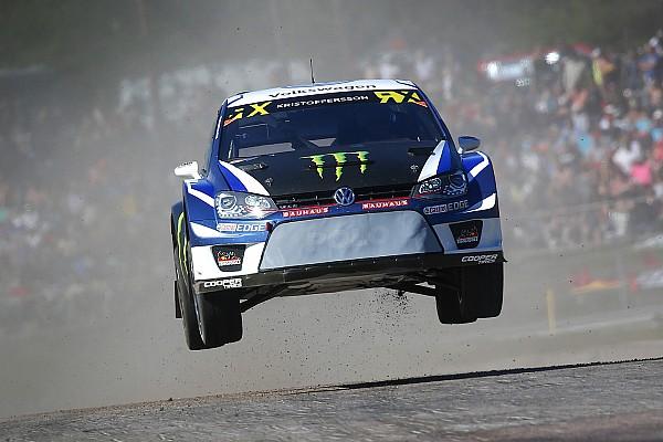 World Rallycross Sweden WRX: Kristoffersson leads Loeb on home soil