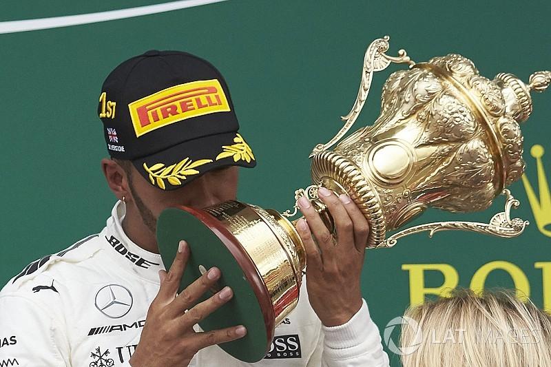 Best of British: How Lewis Hamilton celebrated Silverstone success