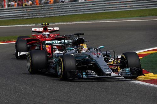 Stand: Hamilton verkleint achterstand met zege in België