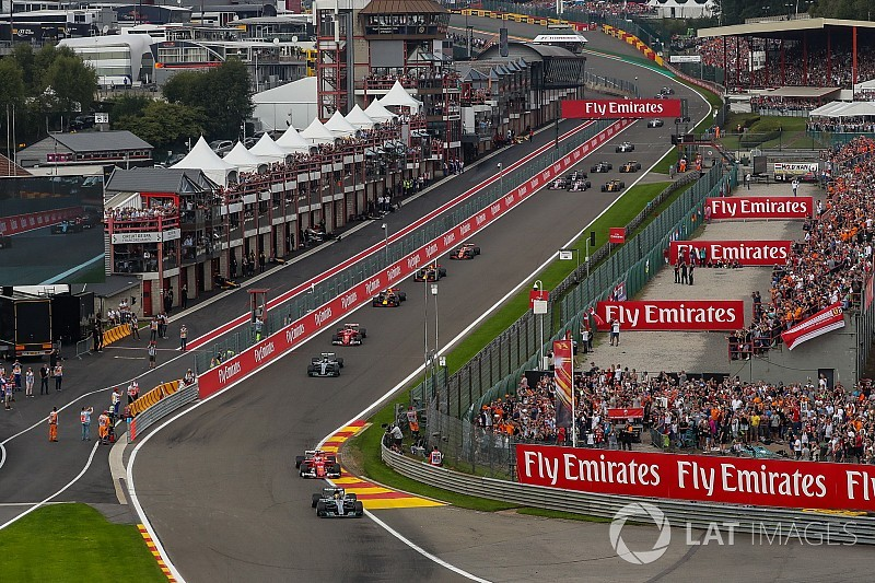 Formula 1 confirms new Belgian GP deal