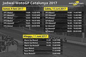 Jadwal lengkap MotoGP Catalunya 2017