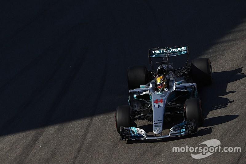 Hamilton: Laju mobil tidak cukup cepat di GP Rusia