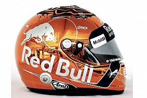 Photos - Le casque spécial de Max Verstappen à Spa