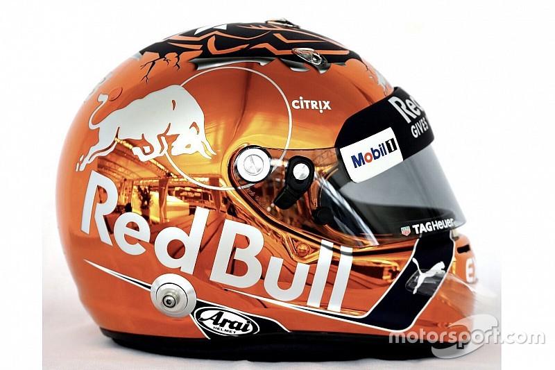 Galería: el casco especial de Max Verstappen para el GP de Bélgica