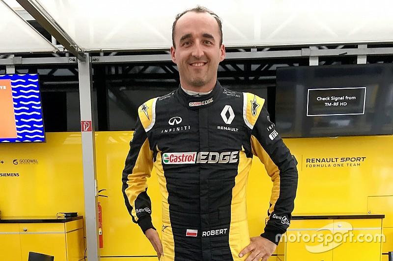 【F1】クビサ、コクピット脱出テストを通過。復帰に向けまた一歩前進