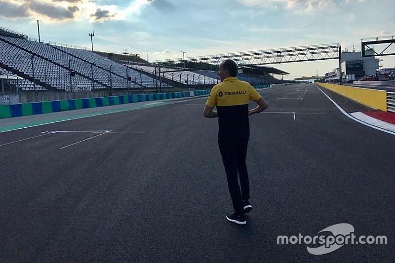 Fotogallery: Kubica si prepara per i test di F.1 dell'Hungaroring