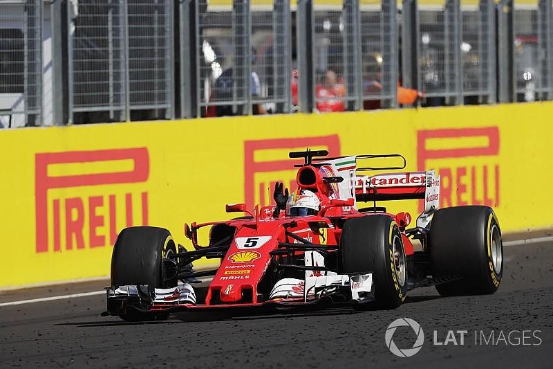 """Vettel: """"Vittoria sofferta, ma la Ferrari è la vettura migliore del lotto!"""""""