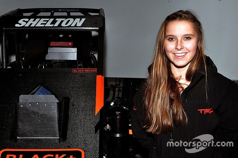Chili Bowl rookie Holly Shelton is quickly scaling the racing ladder