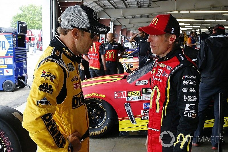 """Kenseth """"won't pay much attention"""" to where playoff rivals are running"""
