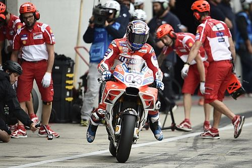 MotoGP test na tweede training nieuwe pitstopvariant, rijders afwachtend
