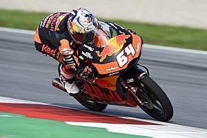 Moto3 Verslag vrije training P2 Bendsneyder in eerste training Britse GP, Canet dominant