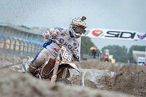 Brian Bogers wordt derde Nederlandse MXGP-rijder