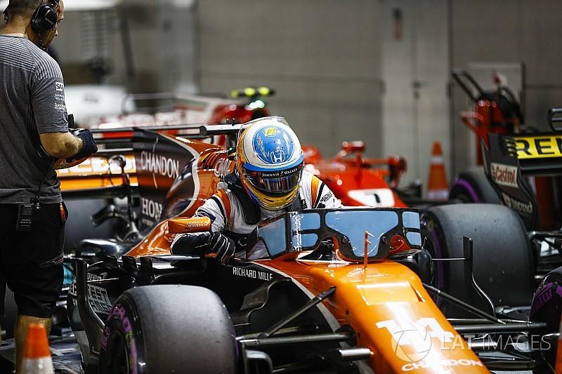 """Alonso: """"El podio era seguro e igual luchábamos por ganar"""""""