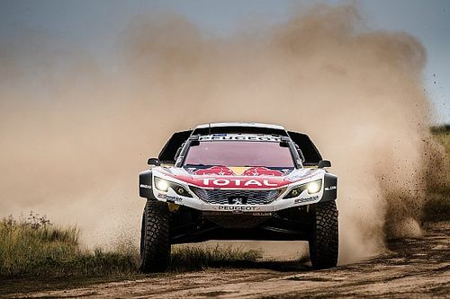 Loeb crashes out of dominant Silk Way Rally lead