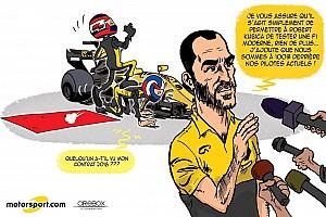 Formule 1 Contenu spécial L'humeur de Cirebox - Kubica, ne parlez pas de retour!