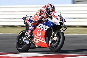 MotoGP Réactions Petrucci, leader