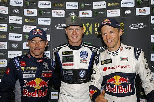 Loeb et Ekström sont décidément les meilleurs des autres...