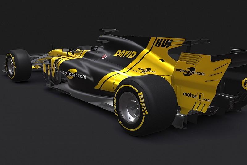 Járj be egy rendkívül egyedi festésű, magyar tervezésű F1-es autót