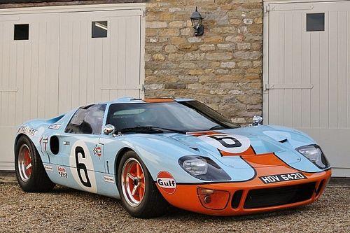 Superperformance Ford GT40 in Gulf-livery kan van jou zijn
