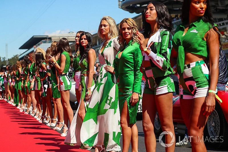 "Grid Girls italianas fazem jus à fama de ""bellas"""