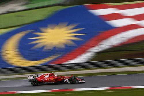 Ferrari manda previo a la calificación, pero con problemas de Vettel