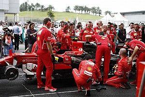 """""""愤怒""""的马奇奥内为提升赛车稳定性对法拉利做出调整"""