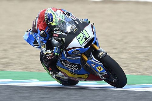 Warm-up GP Spanje: Morbidelli op stoom, crash Oliveira