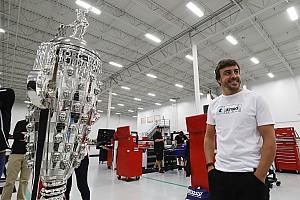 IndyCar Preview Alonso devrait passer le test des rookies lors de ses essais à Indy
