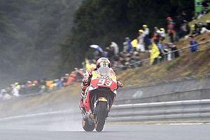 Warm-up - Márquez et la pluie tiennent toujours la vedette