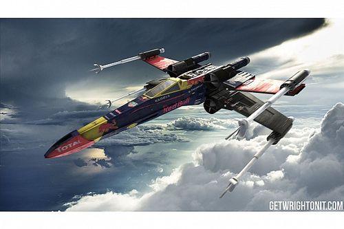 Star Wars: Zsivány Egyes, Forma-1-es köntösben!