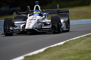 IndyCar Practice report Watkins Glen IndyCar: Bourdais tops wet raceday warm-up