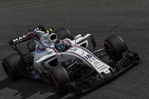 """Stroll told to """"go for it"""" against Hamilton at start"""
