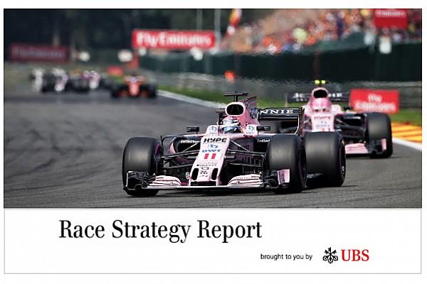 Race strategy report: James Allen's Belgian GP analysis