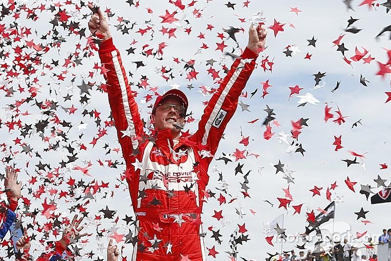【インディカー】最後尾から優勝のブルデー「実はレースを諦めていた」