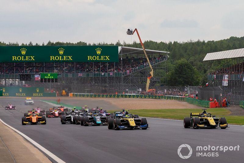 Los horarios de la F2 y la F3 en Silverstone