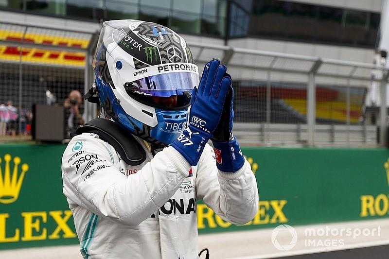 Bottas atribui vitória de Hamilton na Grã-Bretanha ao safety car