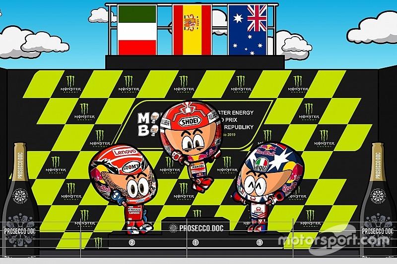 Vídeo: el GP de la República Checa 2019 de MotoGP, por MiniBikers