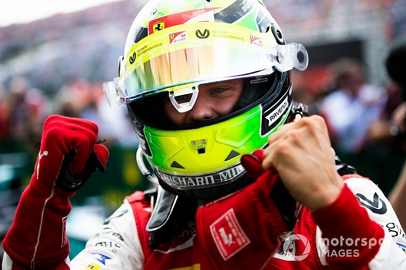 "Prema feels ""relief"" over Schumacher's first win"