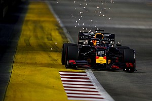 "Verstappen lacks the ""speed to attack"" in Singapore"