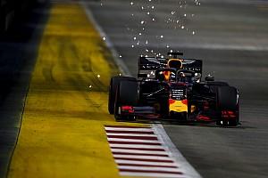 """Verstappen n'a pas """"la vitesse pour attaquer"""" à Singapour"""