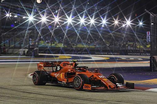 """Leclerc dédie sa pole à Ferrari: """"Le package dont nous avions besoin"""""""