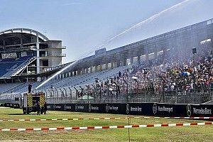 Por el calor, Mercedes quiere que llueva en Alemania