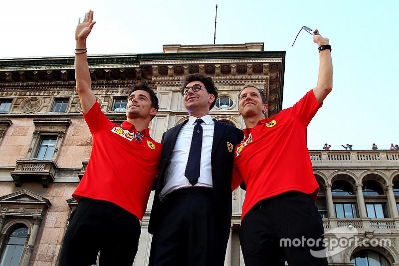 """Montezemolo szerint kizárt, hogy Vettel """"kettes"""" legyen a Ferrarinál"""