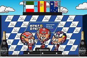 Vídeo: el GP de Aragón, por MiniBikers