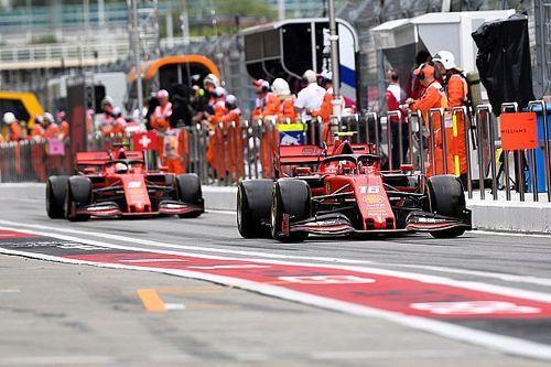 """Vettel no ve un """"patrón"""" en sus derrotas con Leclerc"""
