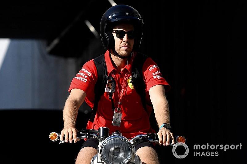 Vettel motoros belépője a Belga Nagydíjon