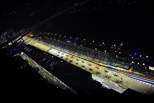 Положение в общем зачете после Гран При Сингапура